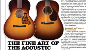 Vintage Guitar Magazine- WL-12 Review